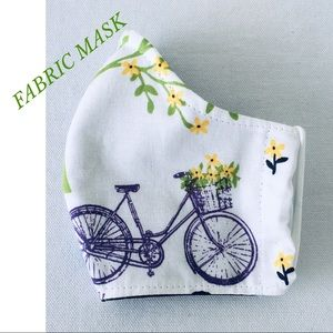 Other - 🌷SOLD 🌷FACE MASK 100% COTTON FABRIC. 🌷SOLD🌷